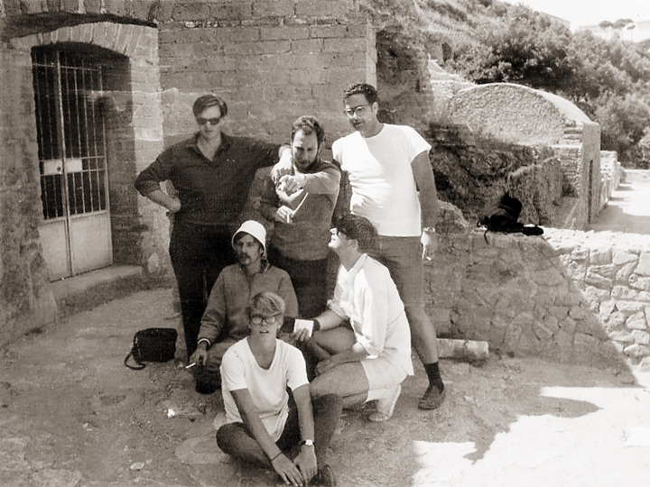 Some Of Doc's Archaeological Team, Assembled At The Ruins At Baia