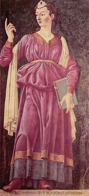 The Cumaean Sibyl by Andrea del Castagno