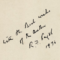 Dr Paget's signature