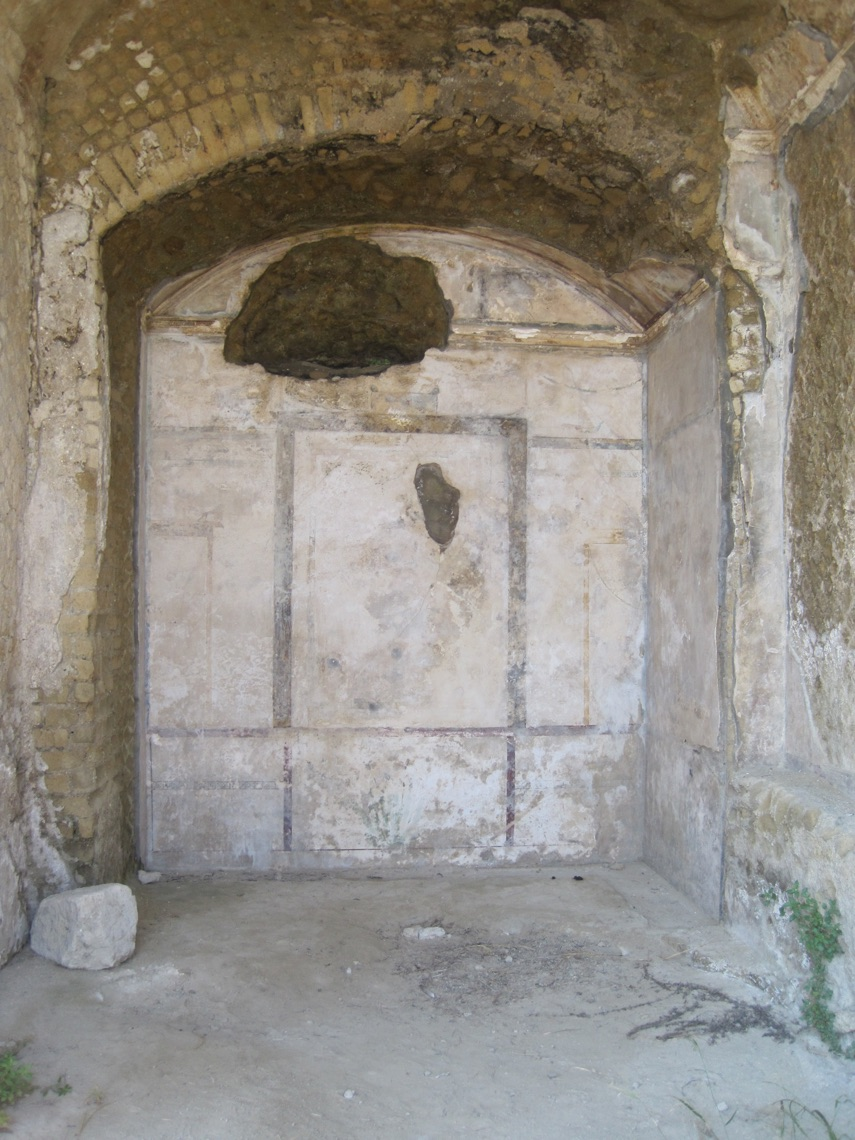 The painted room, with its revealed alcove