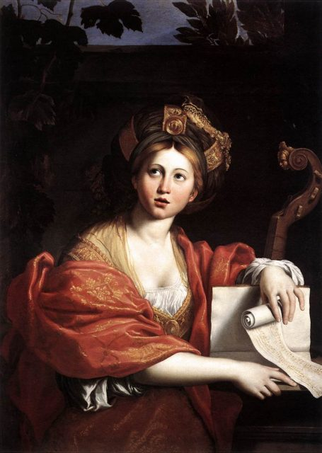 The Cumaean Sibyl by Domenichino, 1622