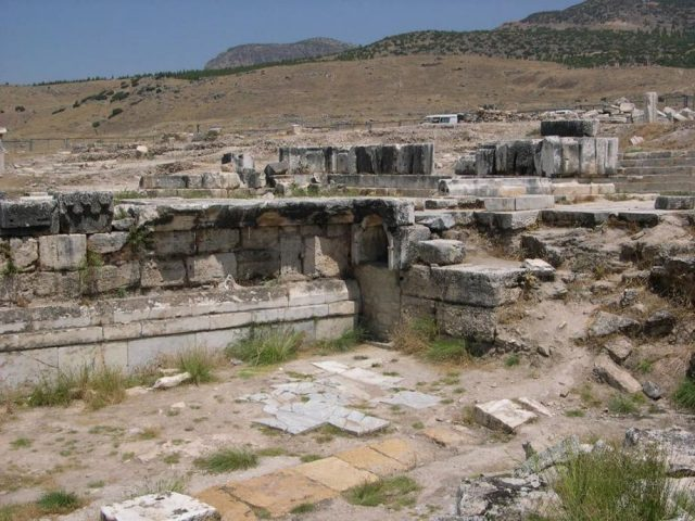 The Ploutonion at Hierapolis