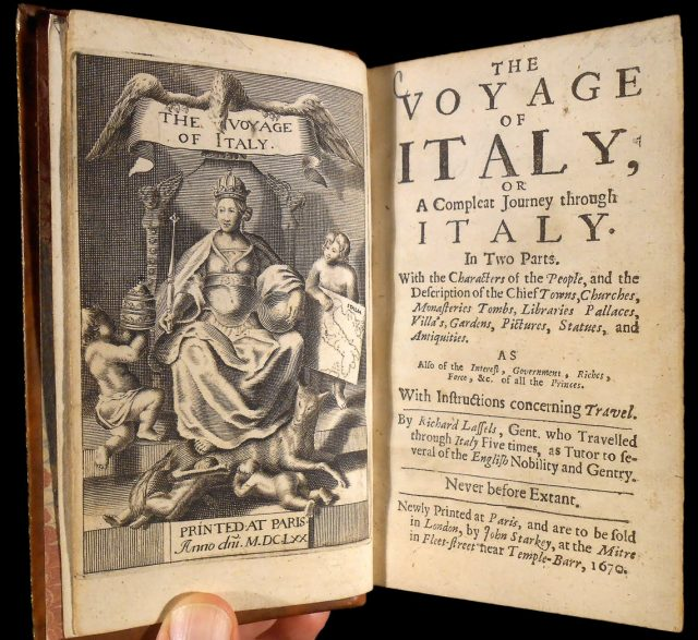 Lassel's Guide to Italy of 1670